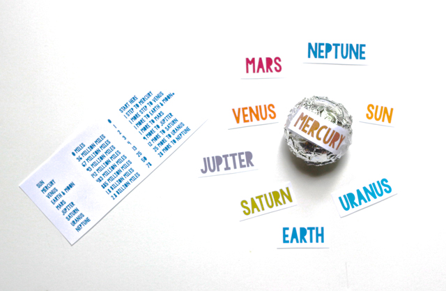 Create a scale model of the universe in your own backyard by pacing off the planets! A great lesson with other fabulous planetary resources.