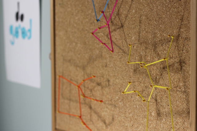Constellation boards are a colorful, modern way to bring science into art.