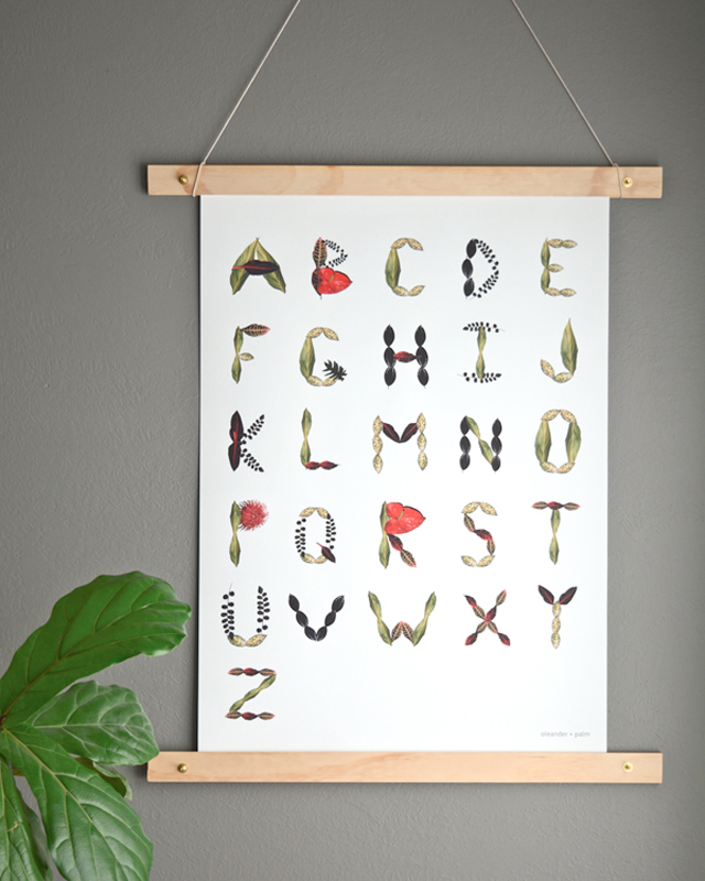 Gorgeous free printable and frame DIY from Oleander + Palm.