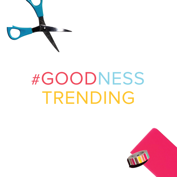 Share the goodness happening in your part of the world by tagging #goodnesstrending