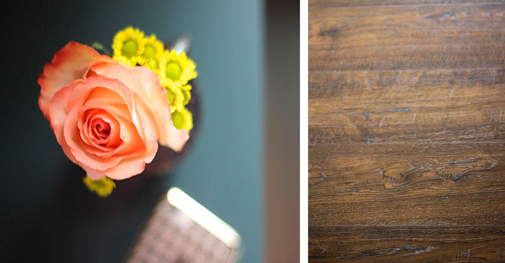 Today's laminate, like the beauty of Auburn Scraped Oak from Pergo, feels and looks authentic.