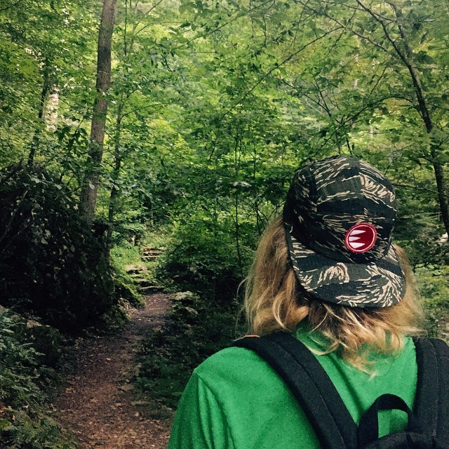 Empire 5 Panel Hats @ empireprintingllc.com #empireeverywhere #empireadventureteam #5panel #naturalstate #poncaarkansas #lostvalleytrail #wishiwashere #trail #hiking #camo #empirelogo #bellacanvas @swoldy_locks @kleegulz @ashstache_ @michaelbtuna #gooutside #killyourtv #outside #trees #edenfalls #longdrive