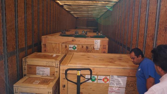 A full truck!