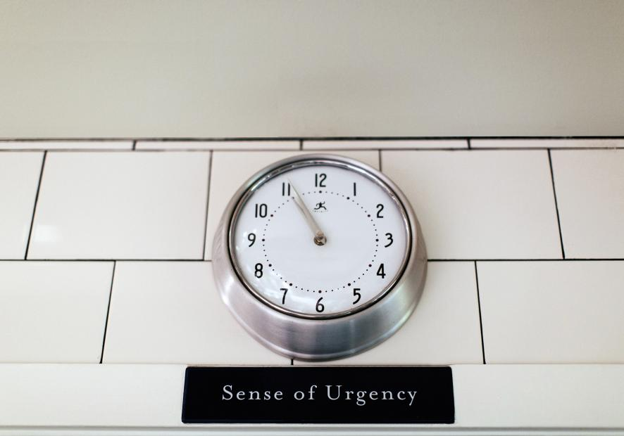 The tenure clock is ticking. Image from  ThomasKeller.com .