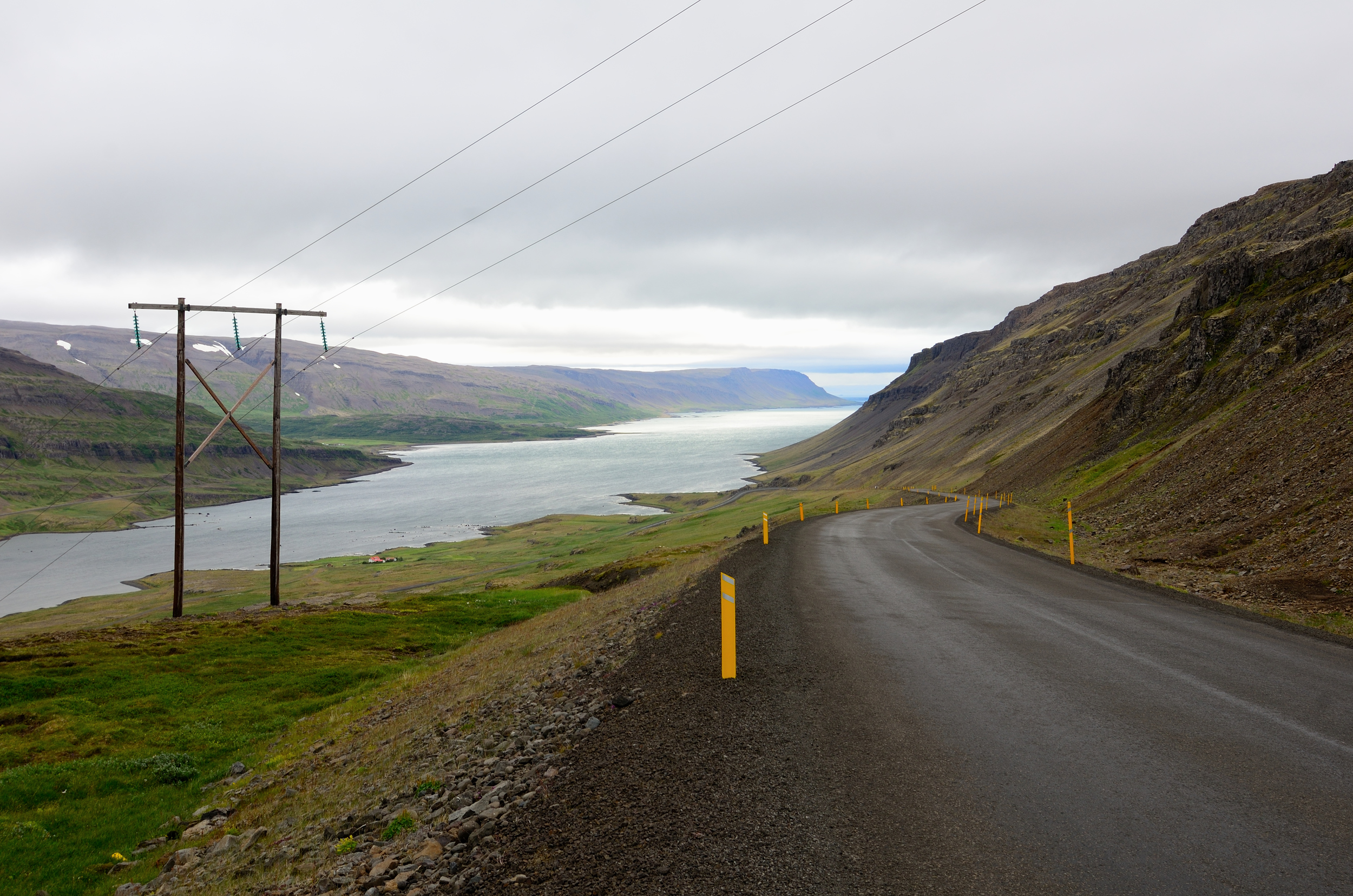 The beautiful, quiet westfjords in Iceland. Photo by yours truly.