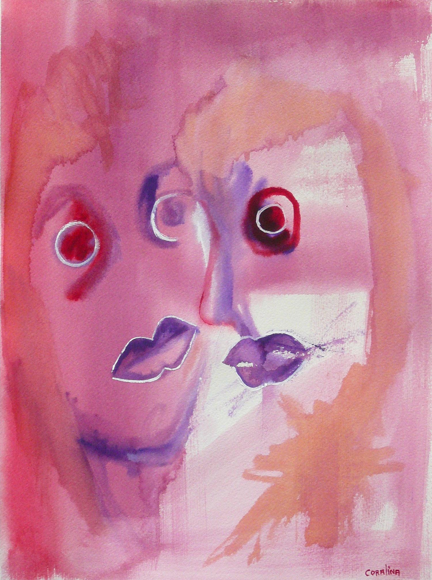 #3 Watercoloron Paper 2x16in (31x41cm)
