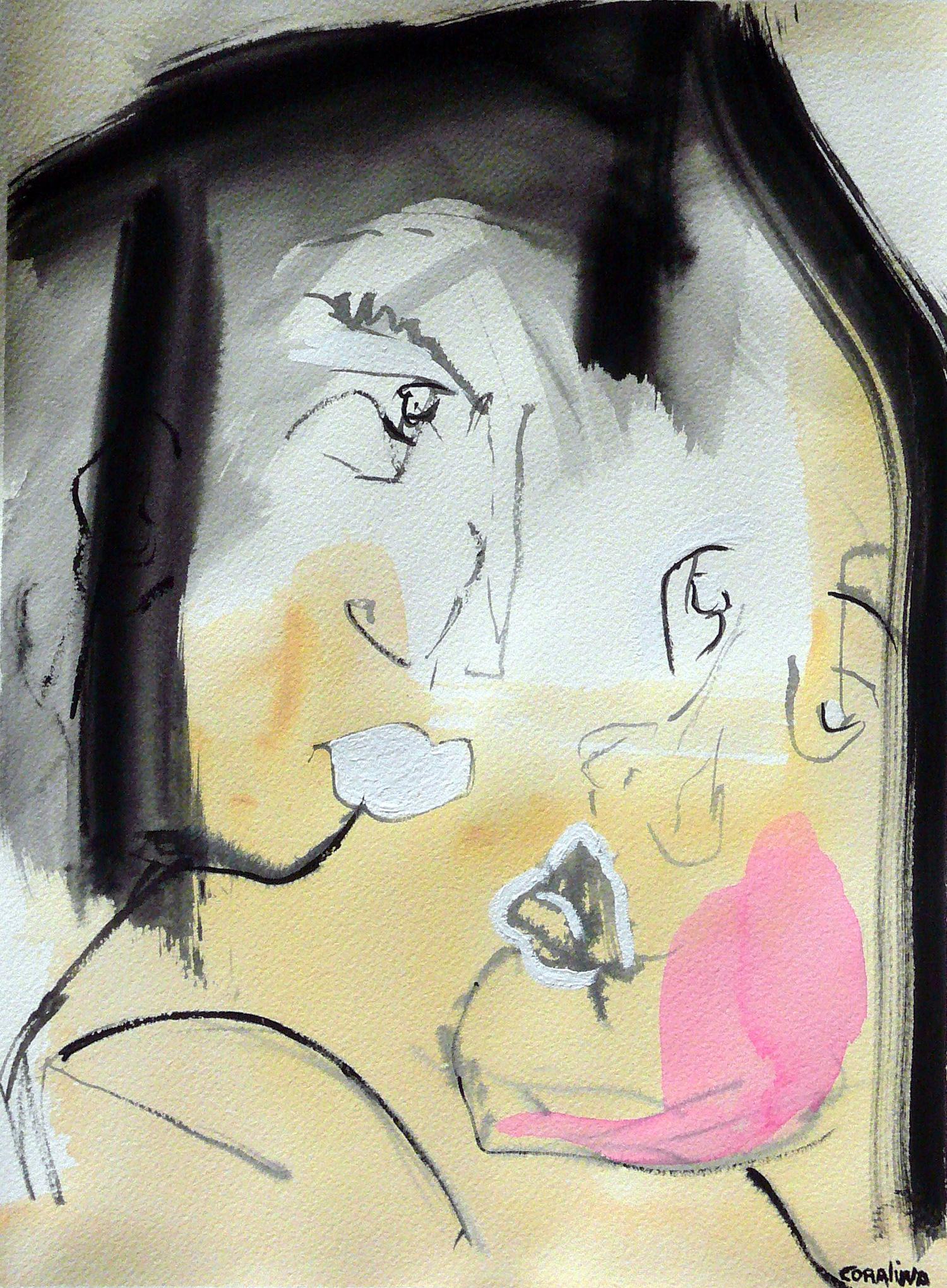 #5 Watercoloron Paper 2x16in (31x41cm)