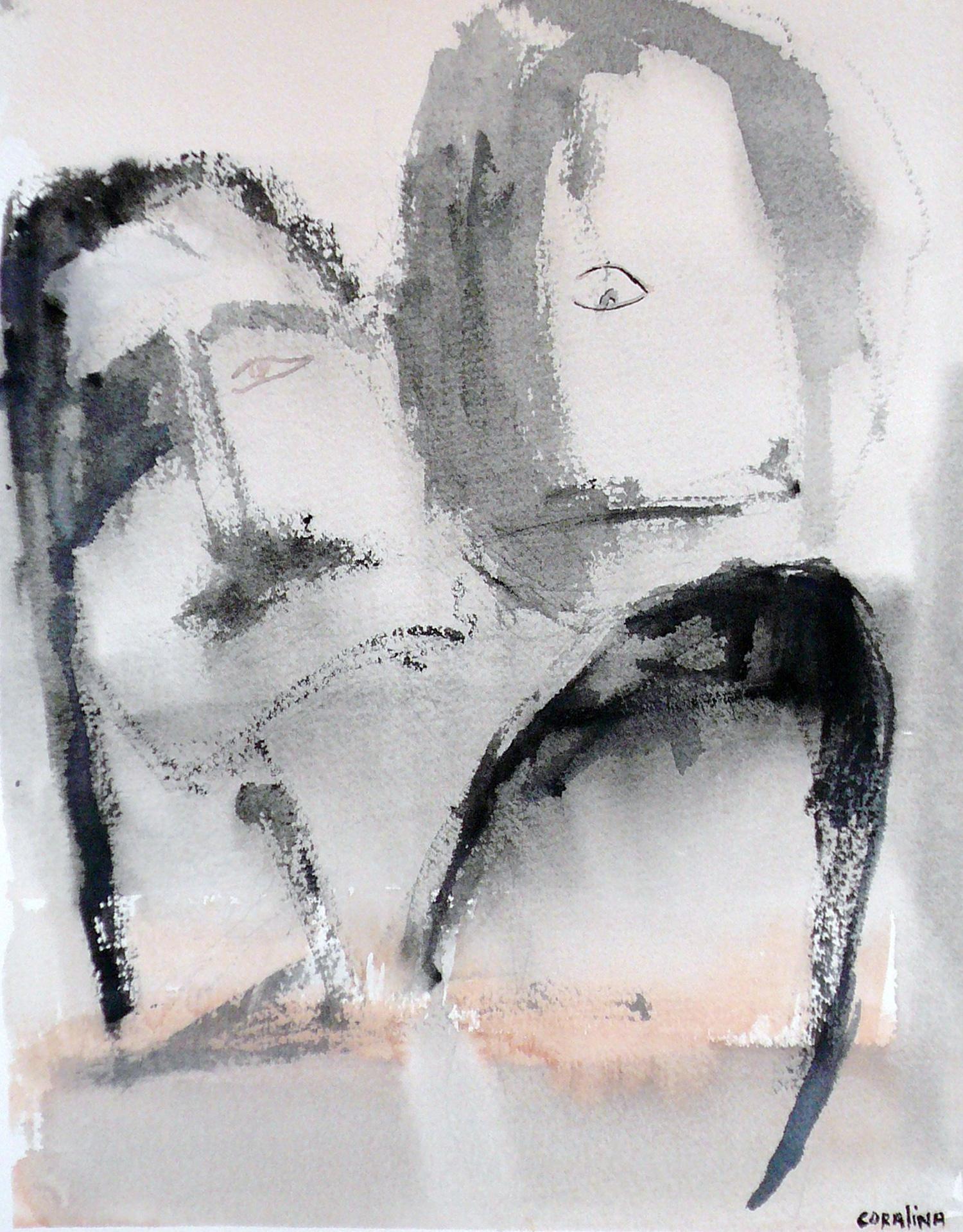 #6 Watercoloron Paper 2x16in (31x41cm)