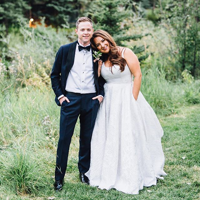 Sneak peek from this past weekends wedding in Vail with Brendan and Rachael! Every detail was gorgeous but more than that, it was full of so much fun, love, sweet friends, and awesome dancing! I'll post them along with others in my stories too so you can see them full length! . . Wedding Planning   @callunaevents Venue + Catering   @sonnenalpvail Florals   @tygerhiss of Rooted Floral + Design and @freshsends Lighting   @myelited Entertainment   @diamondempireband Day Of Signage   @nibandberry Hair   @lolabeautydnvr Makeup   @smash_beauty_bar Wedding Dress   @rebeccaschoneveld_bridal from @aandbe_bridalshop Bride + Groom   @raisiann + @mcd.brendan