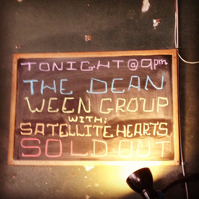 TONIGHT AT THE GREY EAGLE IN ASHEVILLE!!! SOLD OUT! W/THE DEEN WEEN GROUP!