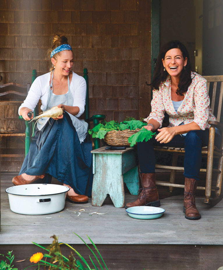 It was incredibleto interview Laurie David about her latest documentary, Fed Up, and her new cookbook, The Family Cooks.