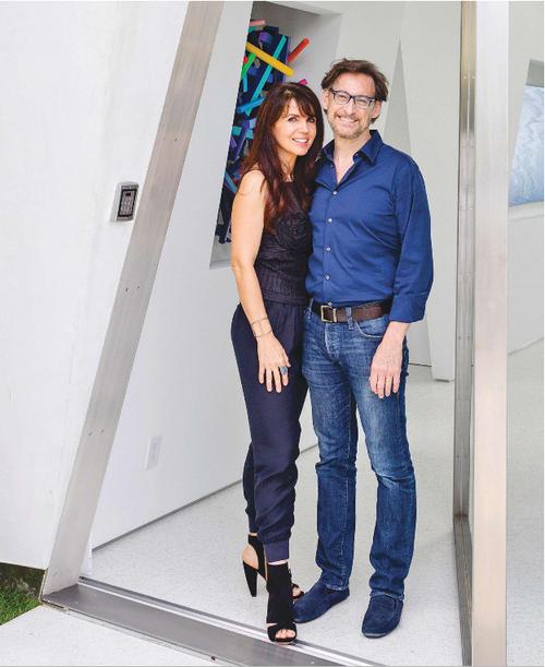 Nina Montée Karp and Dr. Harvey Karp