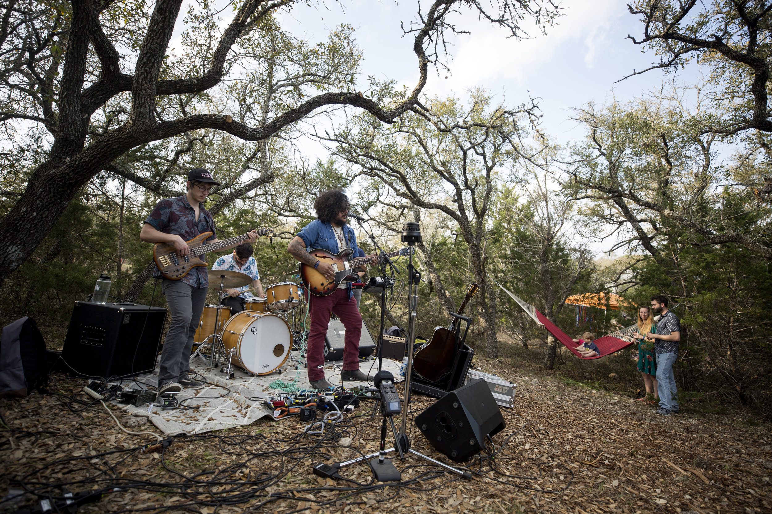 Margaret Chavez. SXSW 2018: From The Hills With Love. Dripping Springs, Texas (Shot for KUTX)
