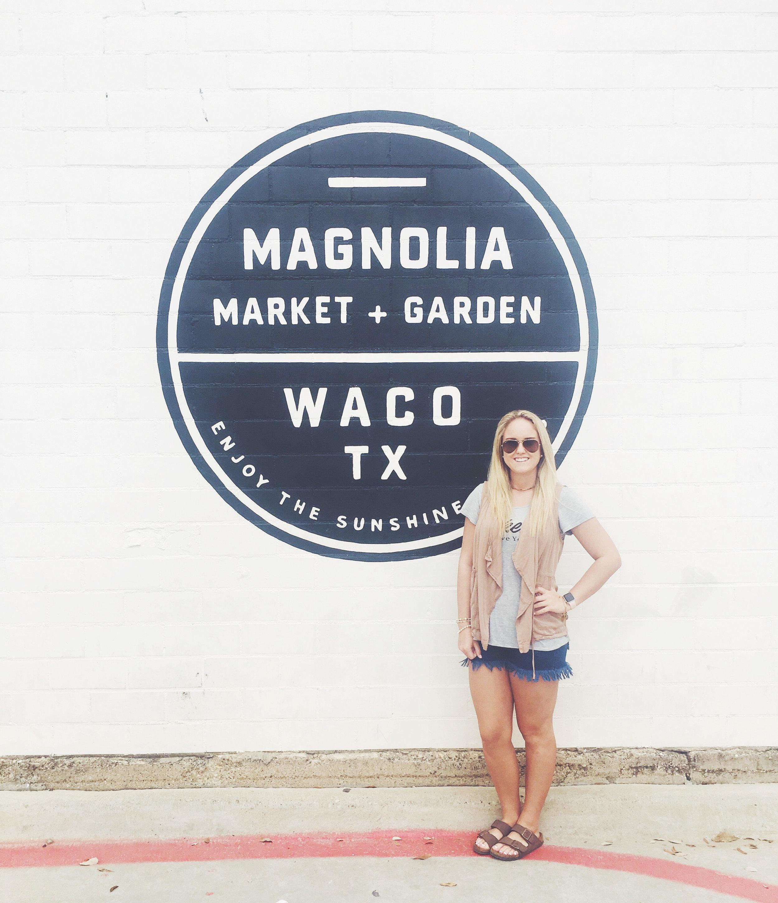 Vacation to Waco, Texas.