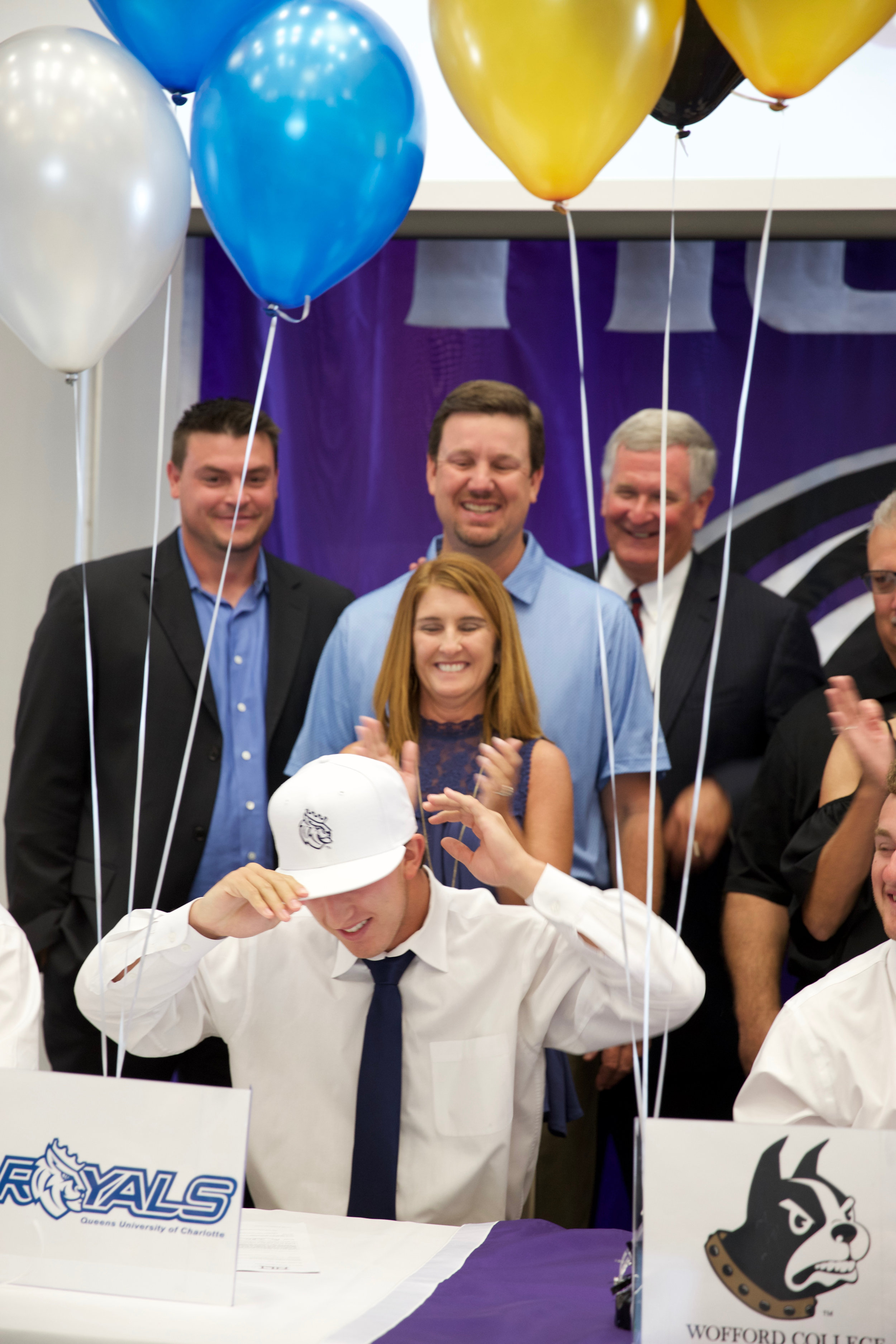 AC (brother) signing to play baseball.