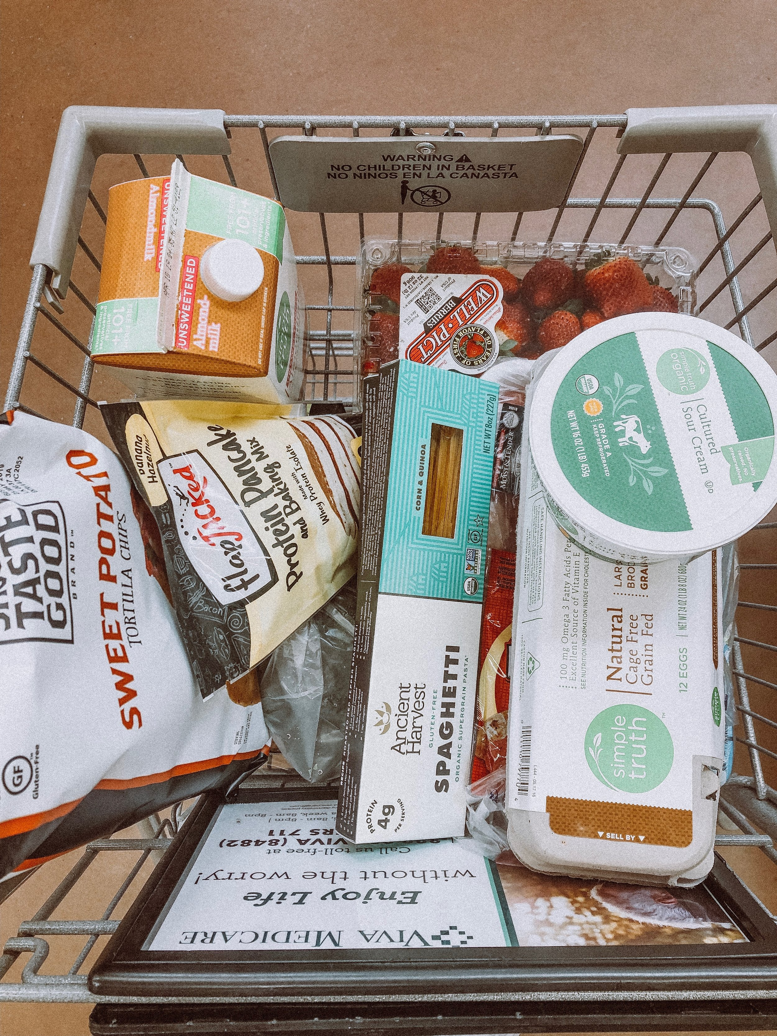 Essentials at Kroger - Kroger is my go to for organic anything!