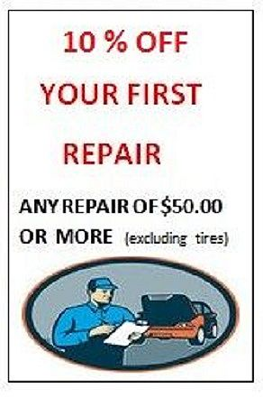 Mechanic Repair Coupon Molinaro Auto Service 2