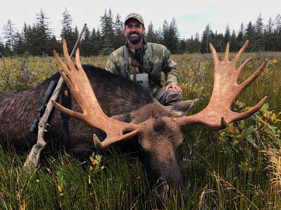 Willi Schmidt as shown on Pure Hunting Season 7 - Episode: Alaska Moose -  on the Sportsman Channel when he hunted at Icy Bay Lodge, 2017