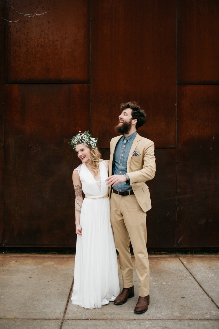 Meredith + Lee // An Art Gallery Wedding  Chicago IL