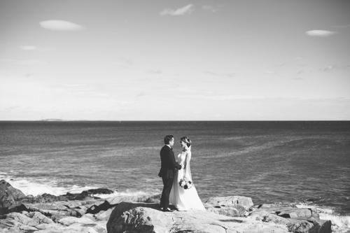 Molly + Johann // A Gloucester Wedding in the Fall  Gloucester ma