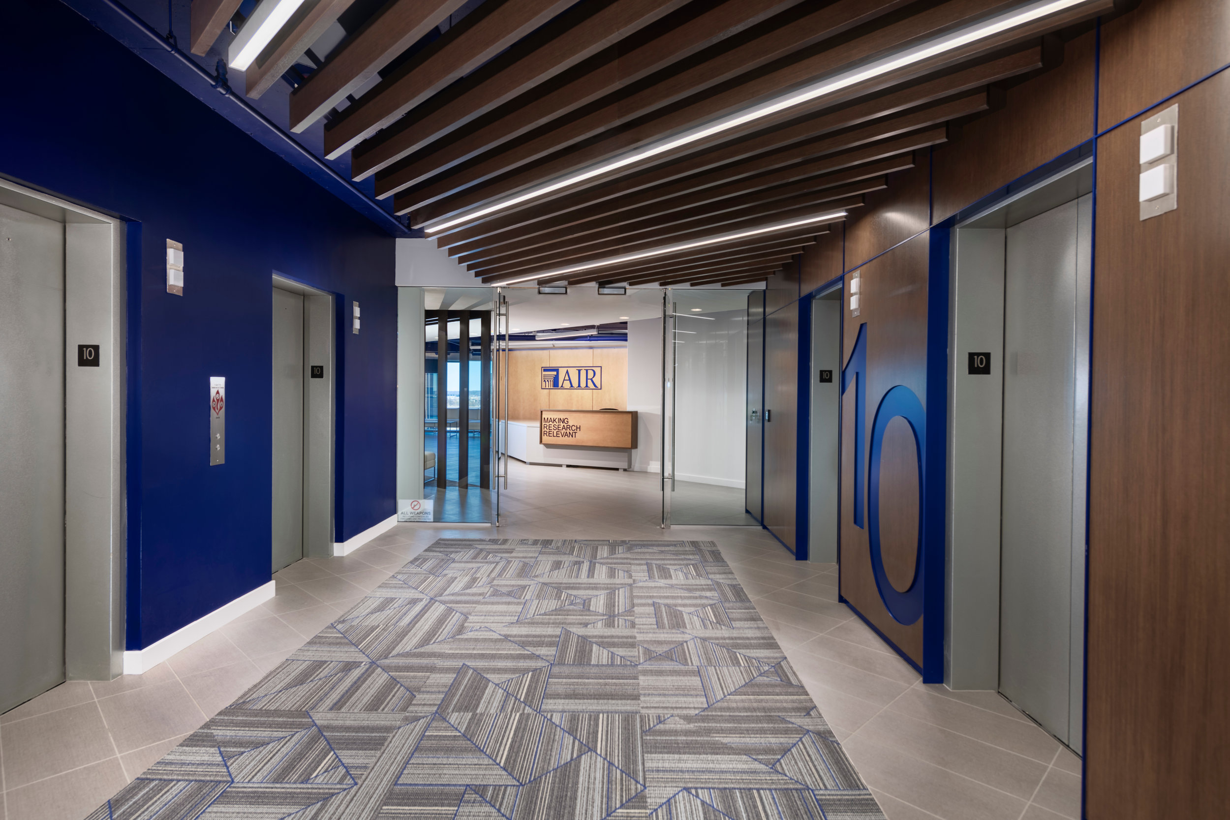 American Institutes for Research - Elevator Lobby