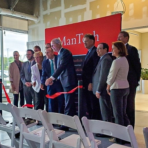 FMStudios was excited to attend the ribbon cutting ceremony for a Cyber Operations center project they designed today. Congratulations ManTech on the new space. We hope you enjoy it! . #mantech #design #interiordesign #cuttingedge #designlife #cybersecurity #technology #techy #tech #dhive #nationalwallcovering #national #mohawkgroup @national.solutions #digitalwallcovering