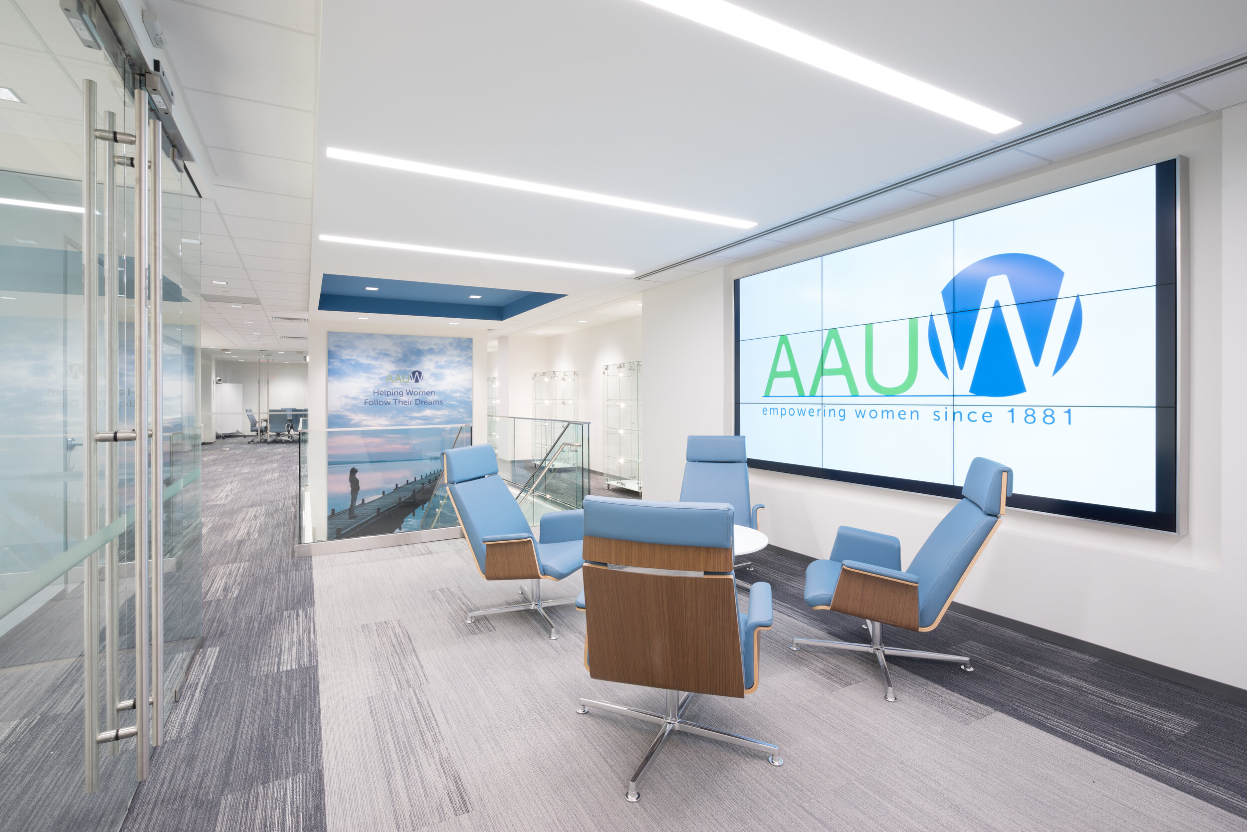 American Association of University Women - Reception