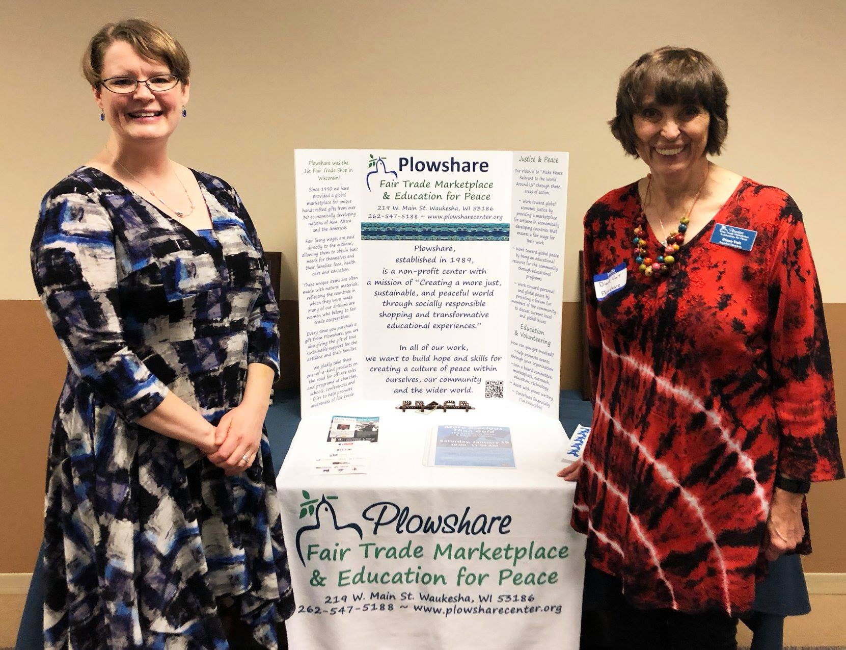 We would like to Thank Tempo Waukesha for selecting Plowshare for its Community Impact Quarterly Charity!  And Thank You  Diane  (a member of Plowshare's Speakers Bureau & Board of Directors) for representing our organization and sharing our mission!
