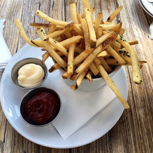Happy #NationalFrenchFryDay! Give our #TruffleFries a taste next time you're in. You are going to like what we did here! 🍟