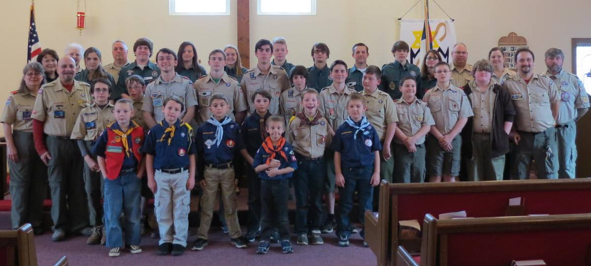 Boy Scout Sunday - February 8th, 2015