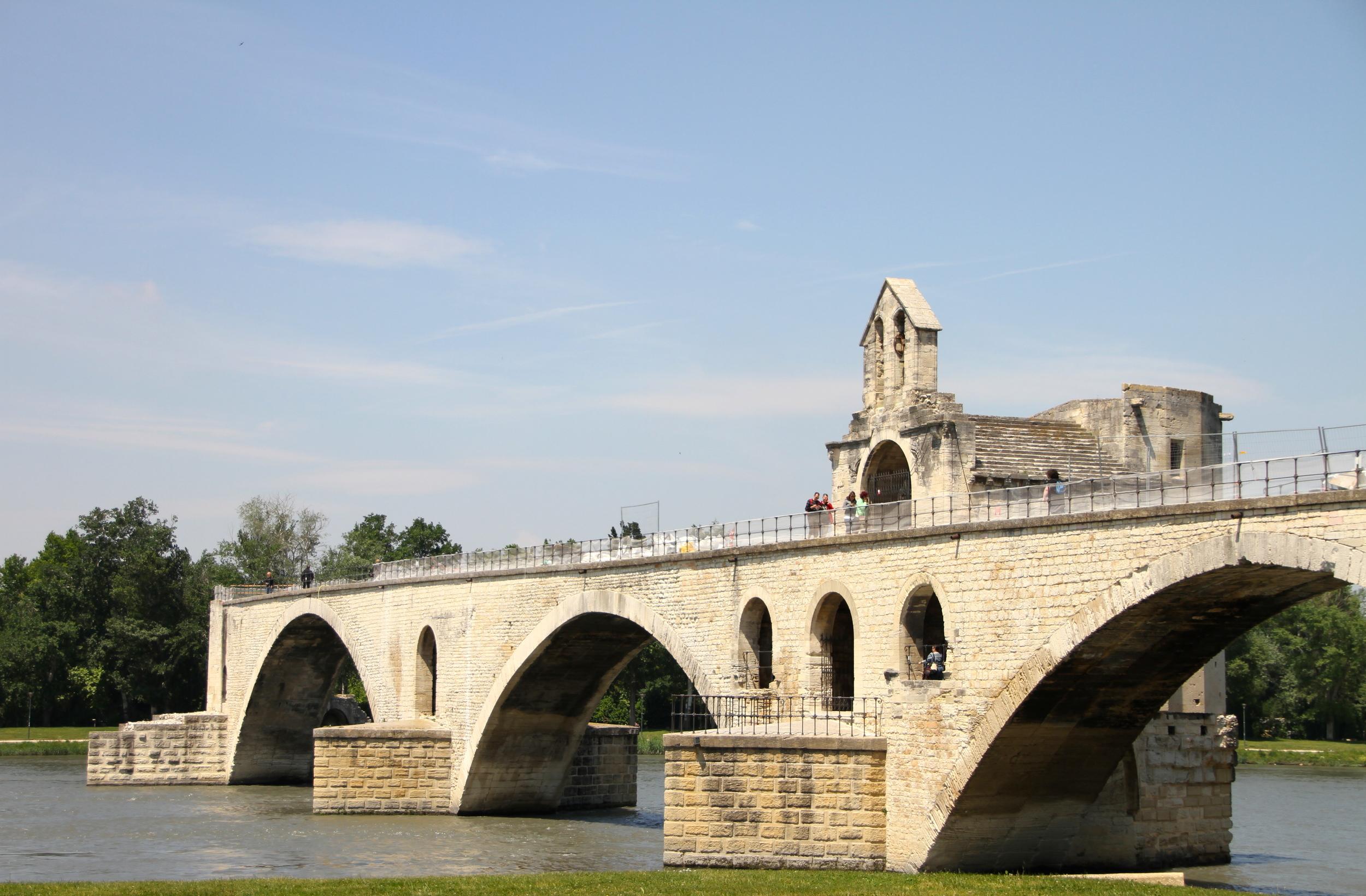Pont d'Avignon, Avignon.