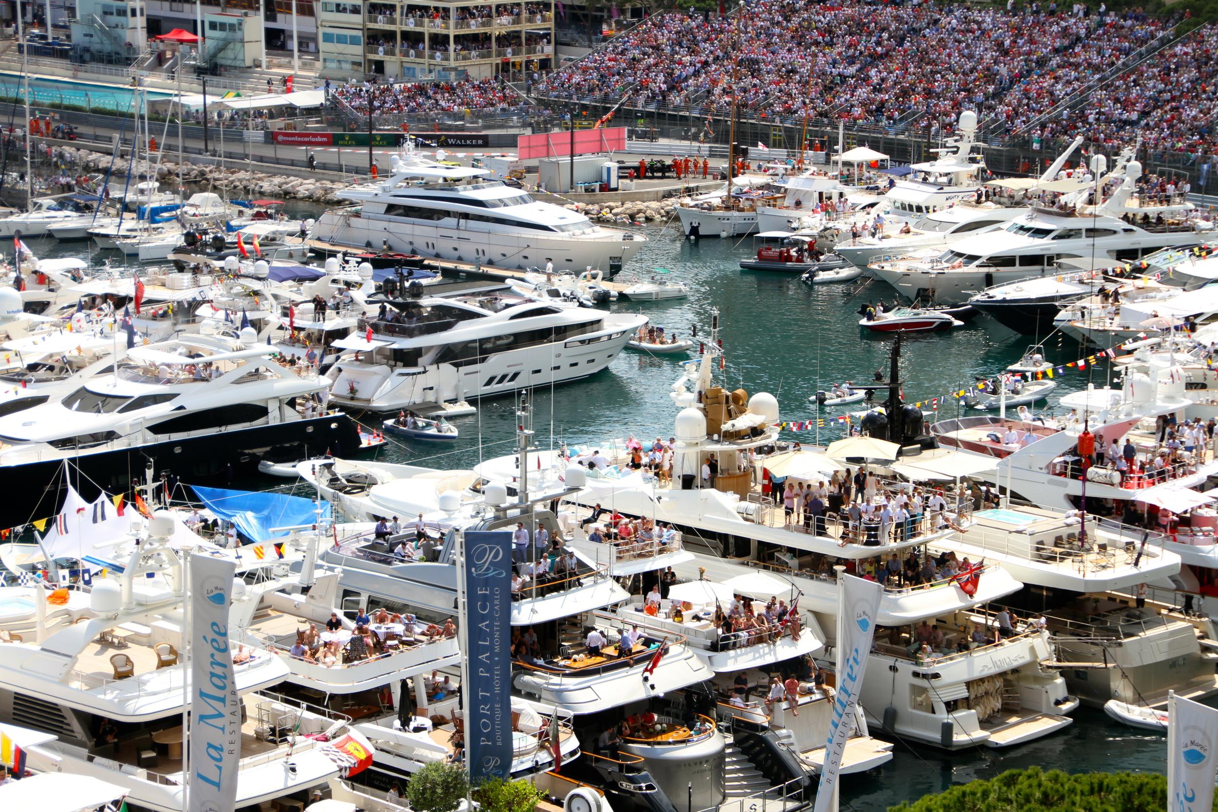 Yachts Monaco Grand Prix