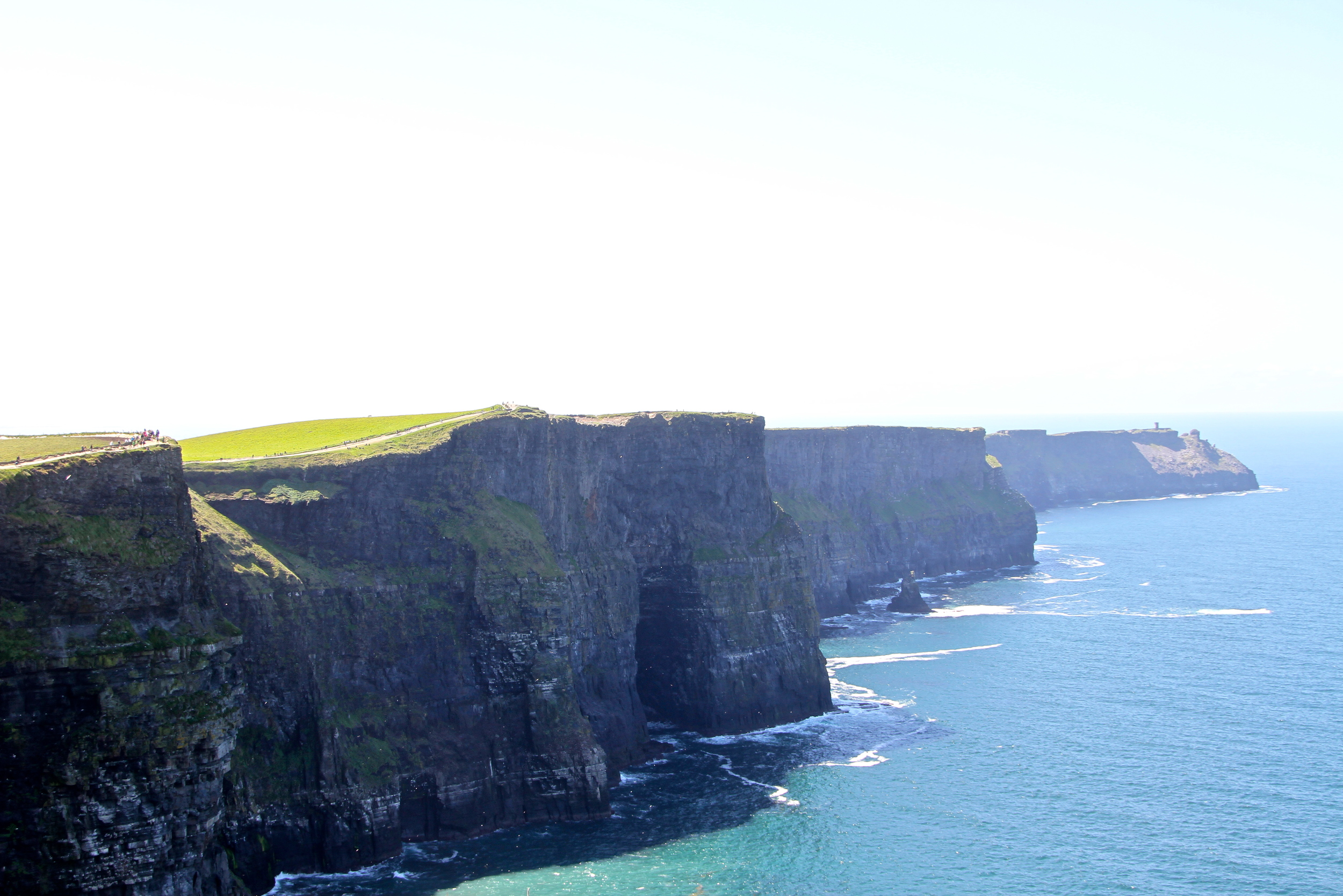 The Cliffs of Moher, Co. Clare, Ireland.