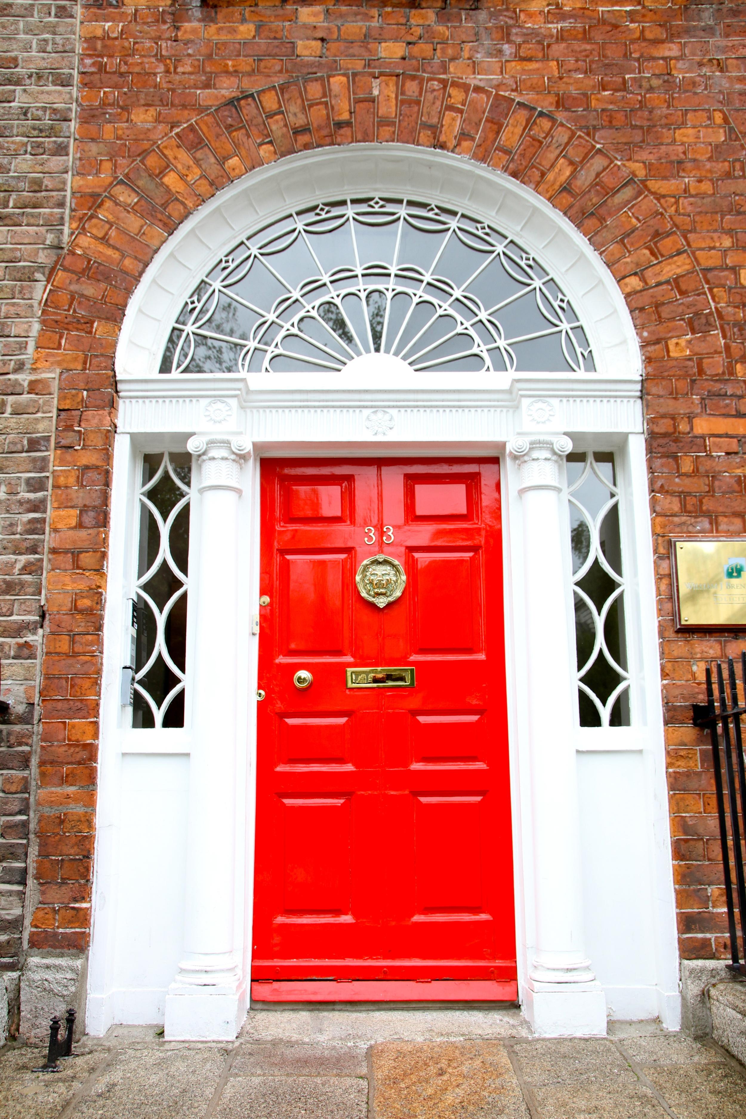 Georgian Door, Dublin, Ireland.