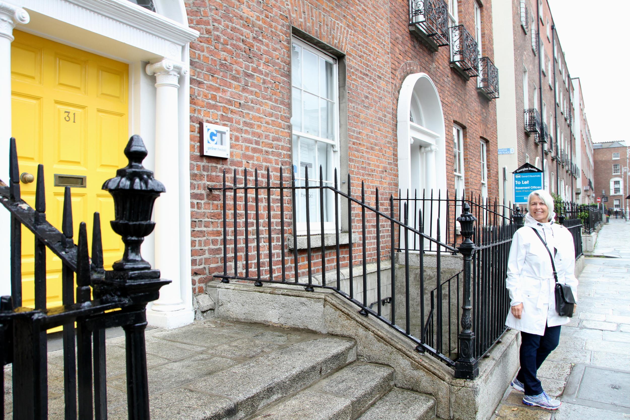 My mom! Dublin, Ireland.