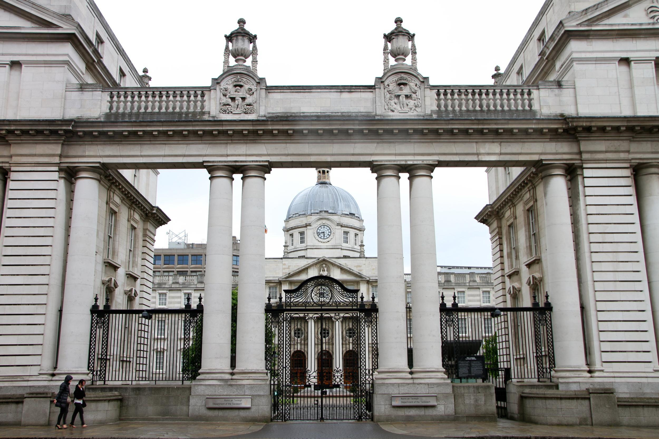 Important looking buildings, Dublin, Ireland.