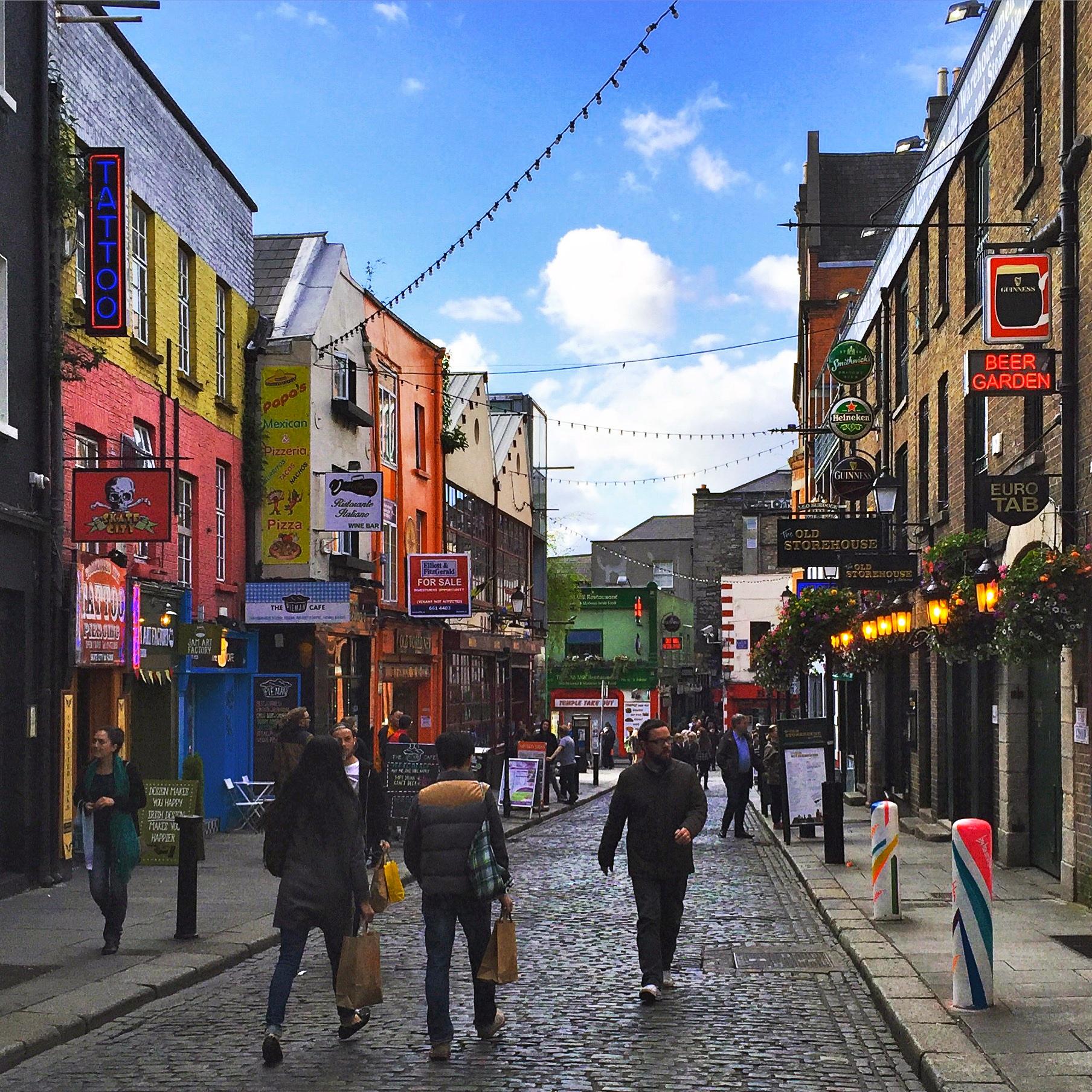 Temple Bar, Dublin, Ireland.
