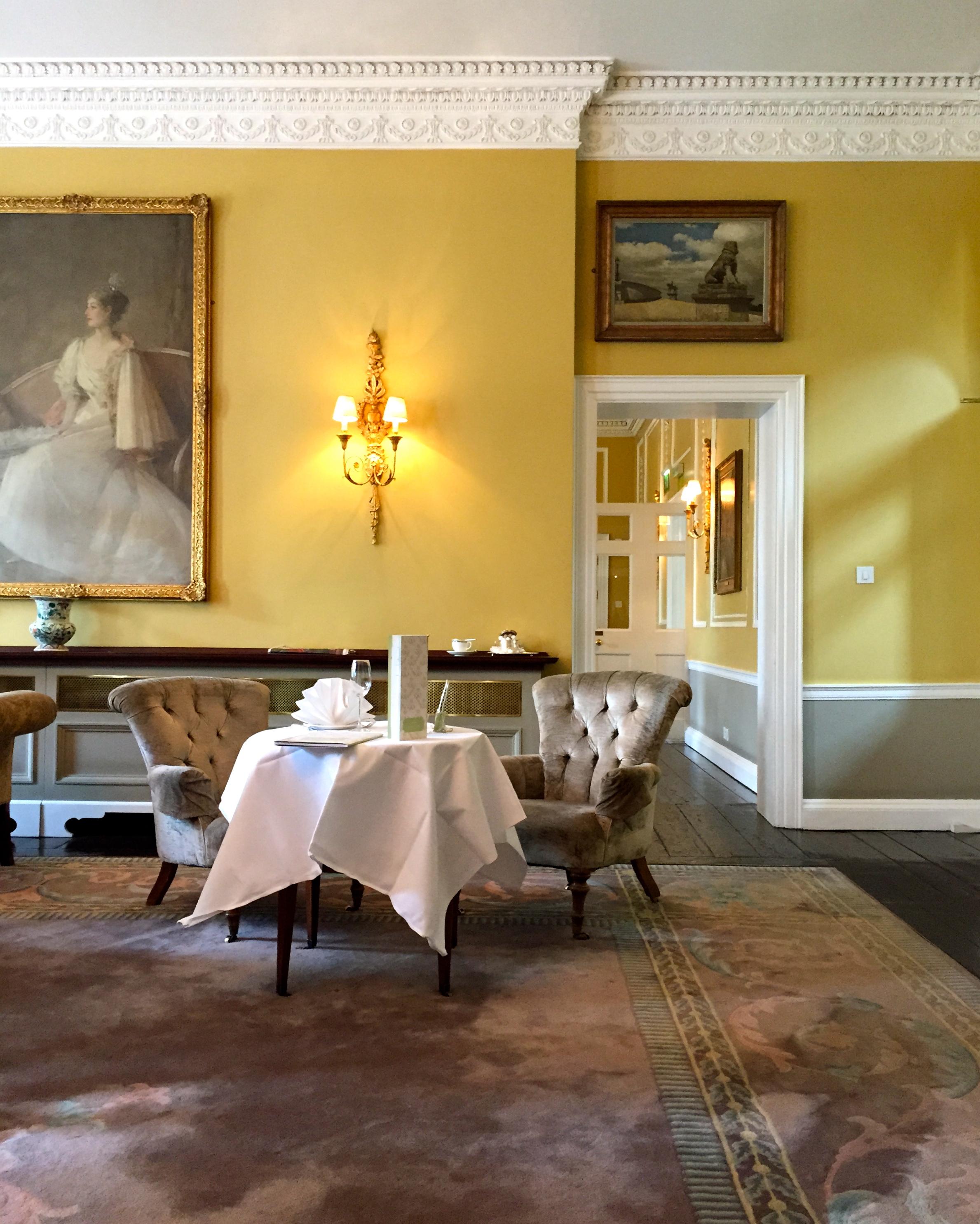 Afternoon Tea, The Merrion Hotel, Dublin, Ireland.