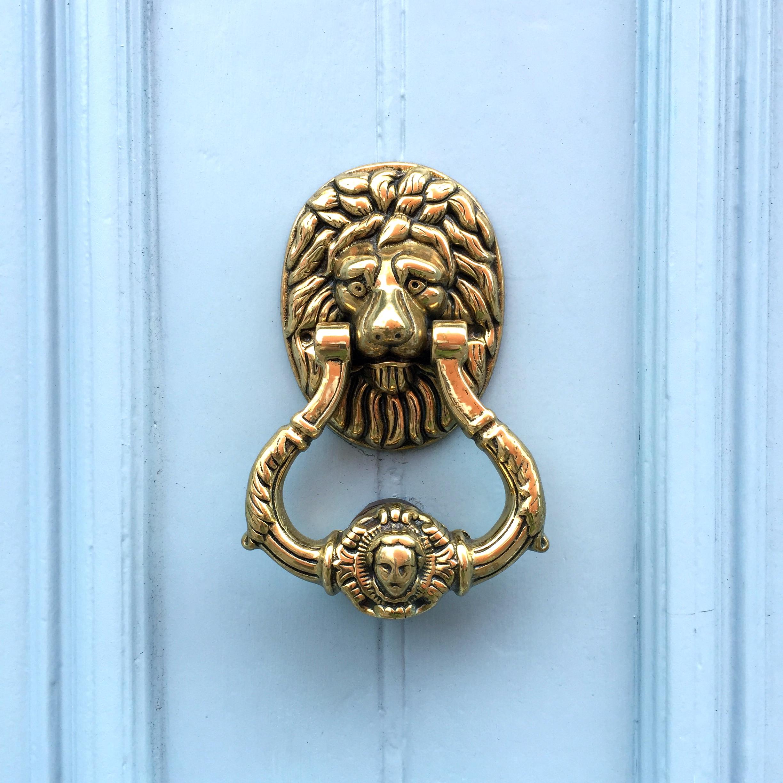Door Knocker, Dingle, Co. Kerry, Ireland.