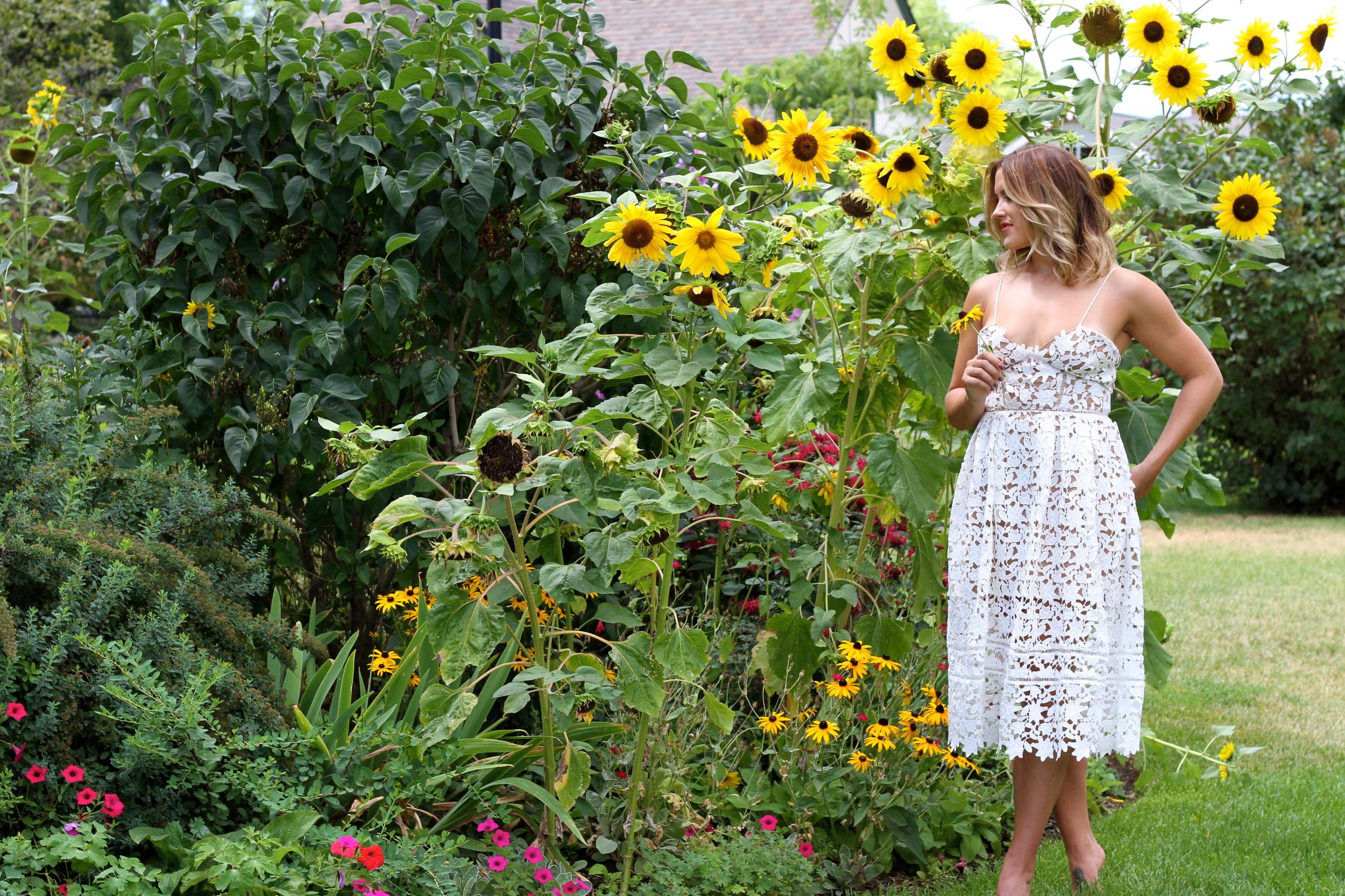 Azaelea Dress, Self Portrait