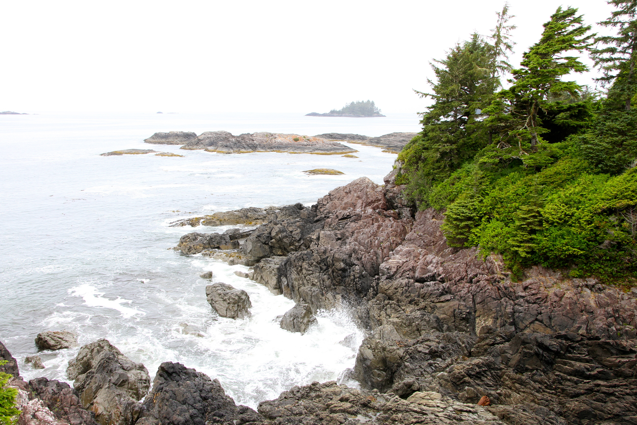 Room with a view. The Wickaninnish Inn, Tofino, BC, Canada.