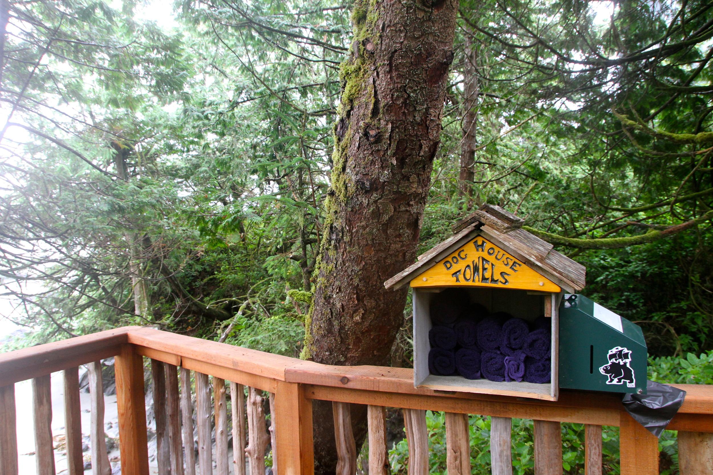 Such a great idea!The Wickaninnish Inn,Tofino, BC, Canada.