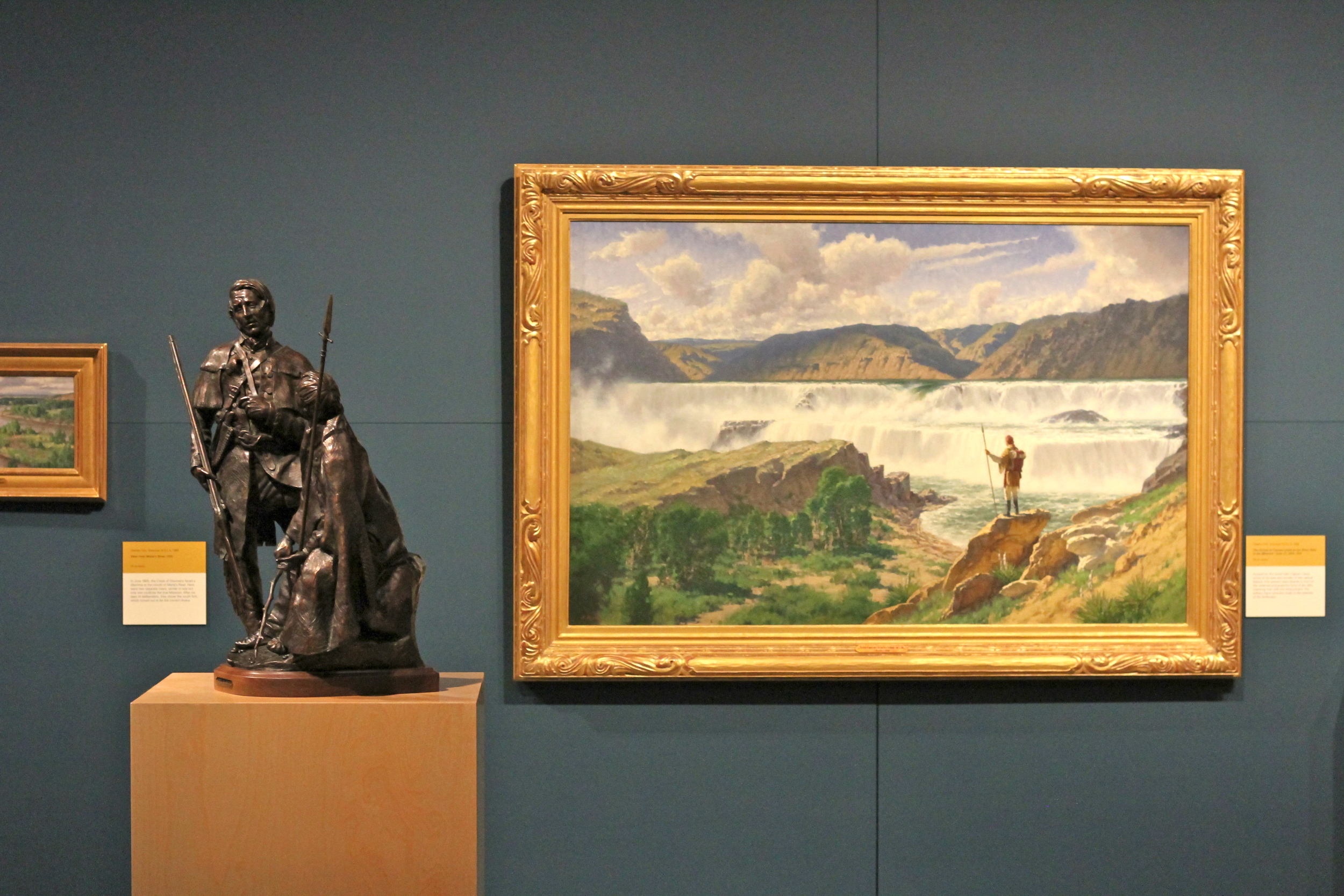 Lewis and Clark exhibit, Scottsdale's Museum of the West.
