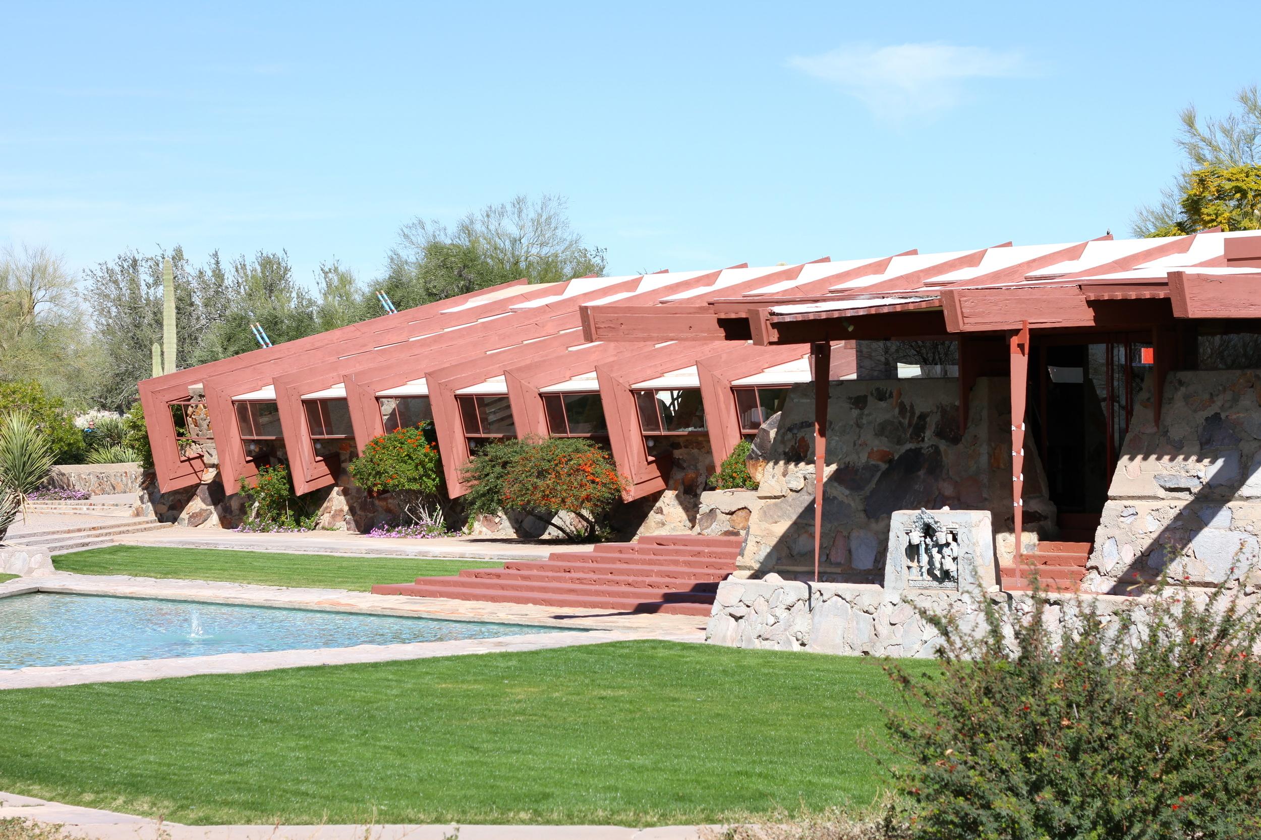 Taliesin West, Frank Lloyd Wright, Scottsdale, AZ.