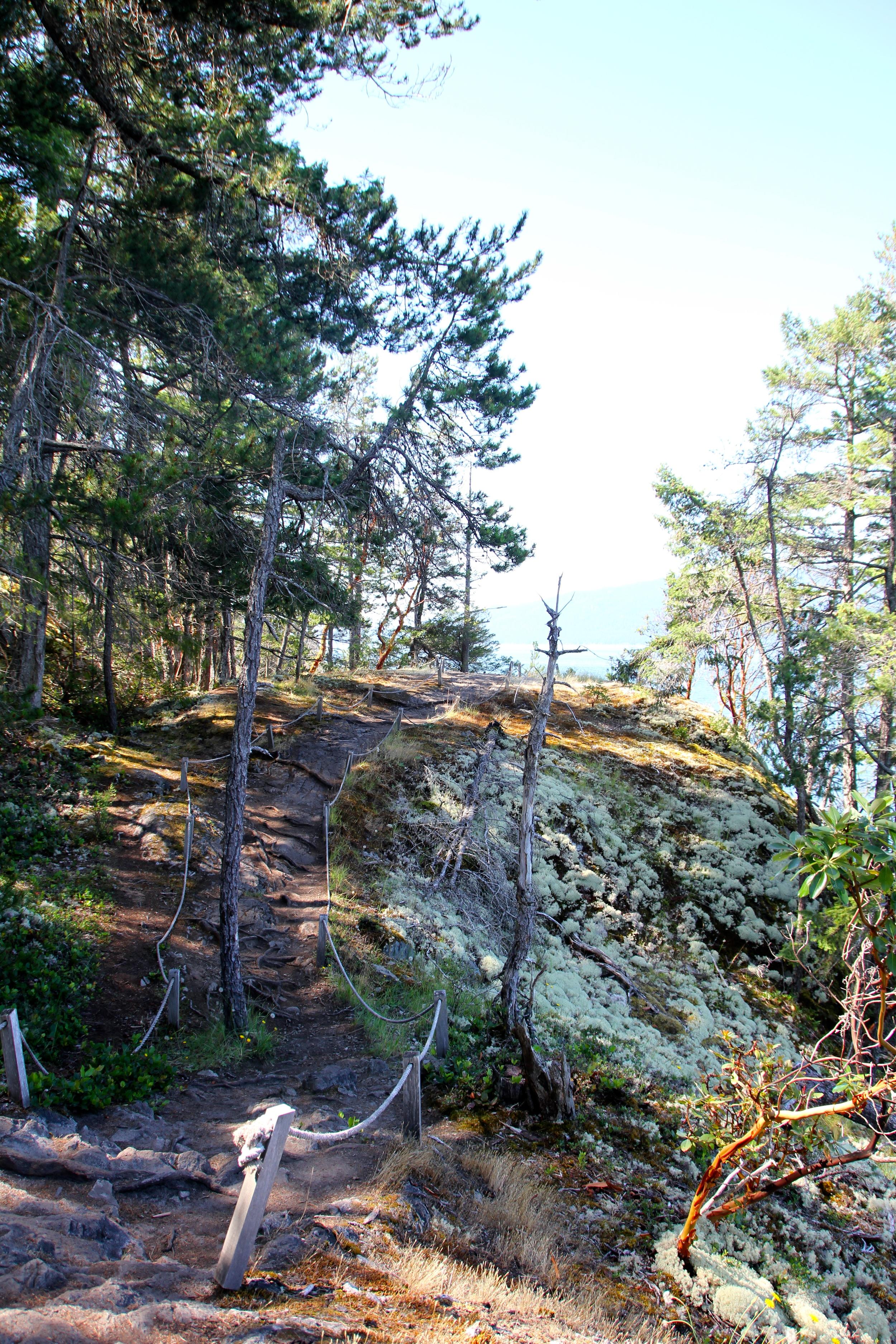 Francis Point Provincial Park, Sunshine Coast, BC, Canada.