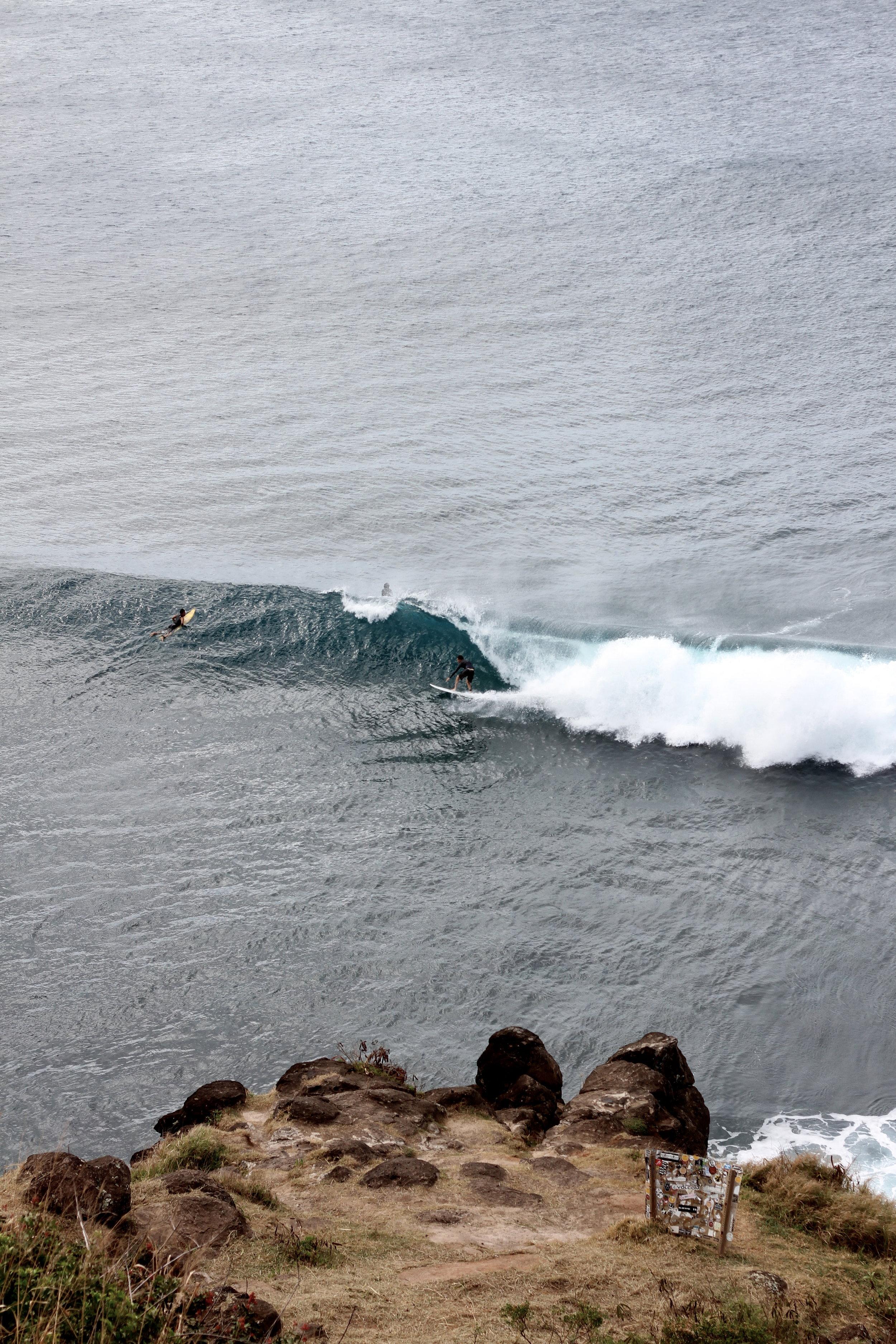 Honolua Bay Cliffs, Maui, Hawaii