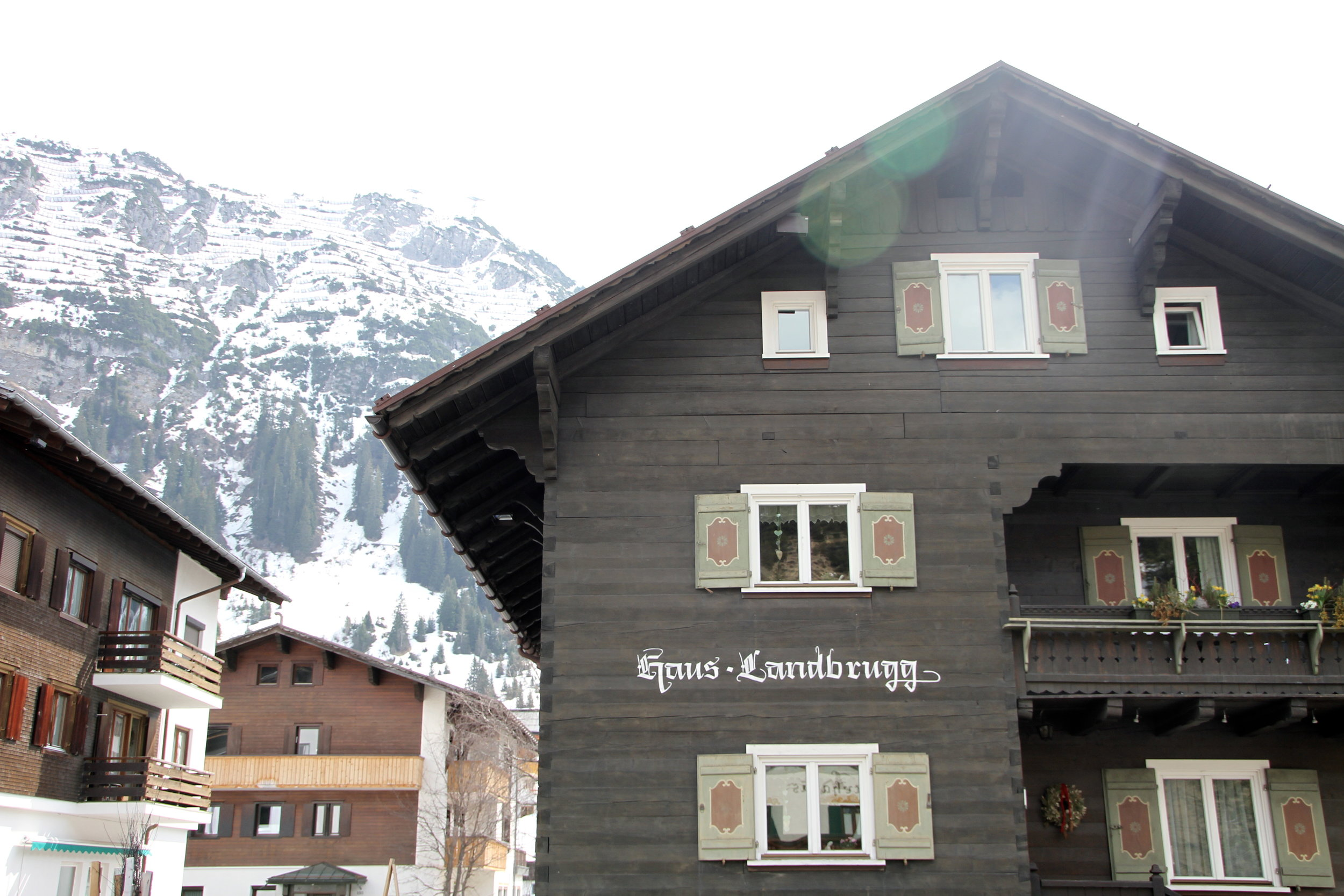 Village wanderings, Lech, Austria.