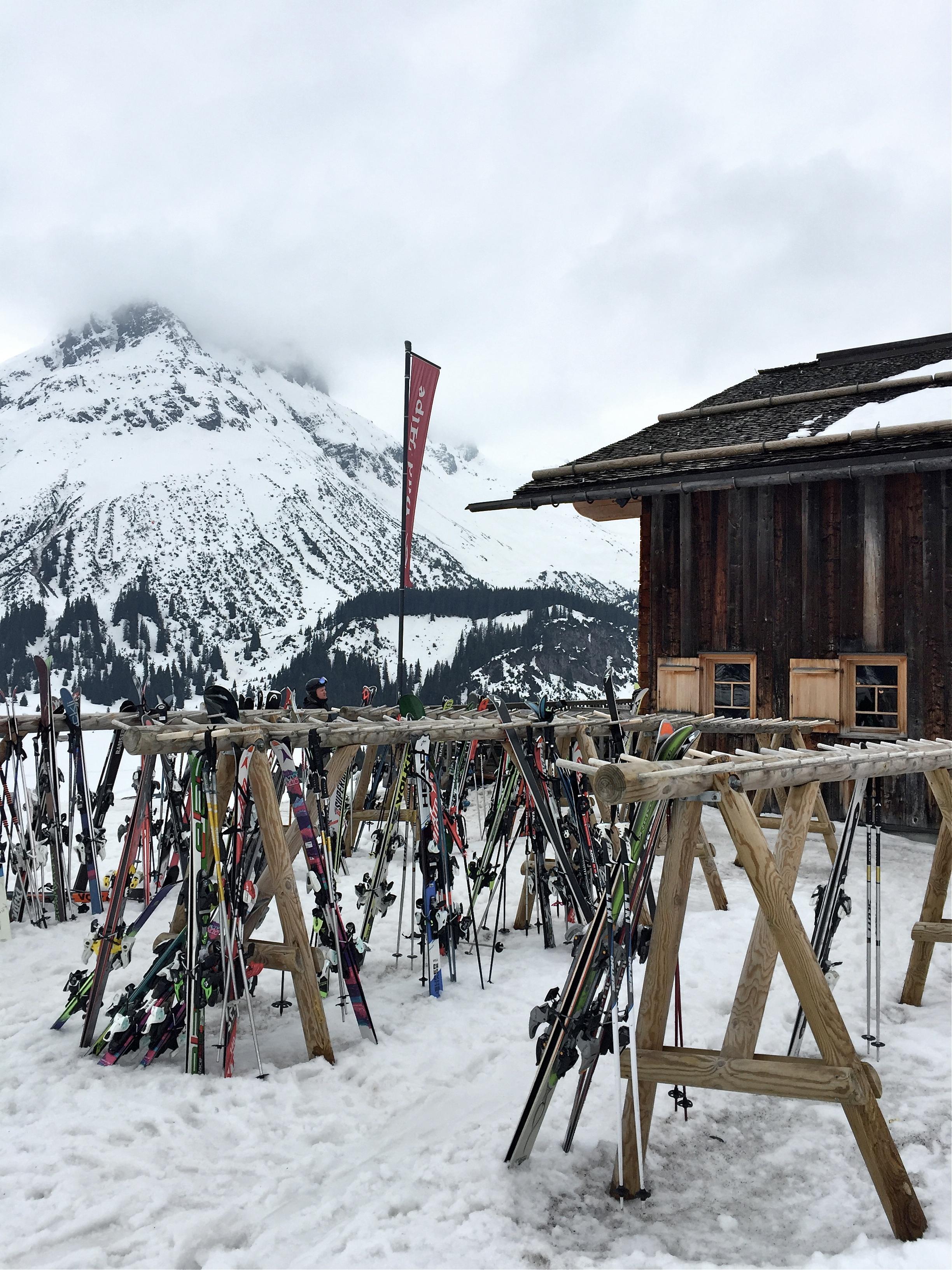 Rud-Alpe, Lech, Austria.