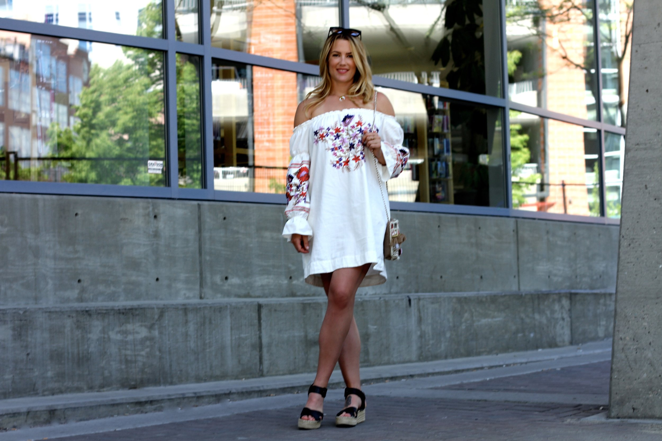 Emboidered Summer Dress