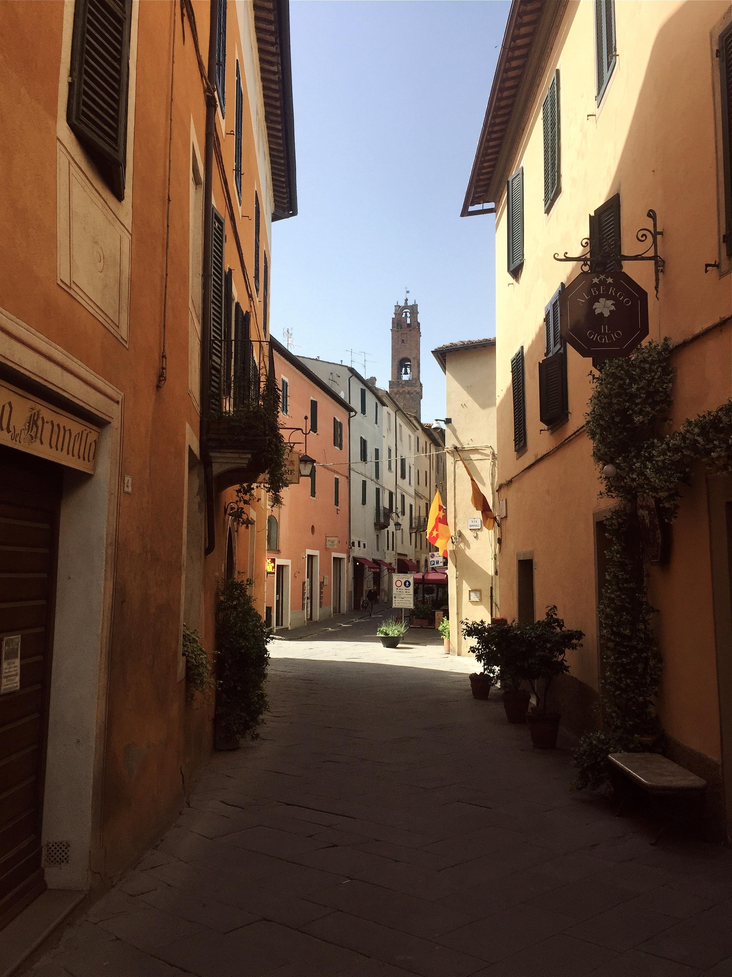 Montalcino, Tuscany, Italy.